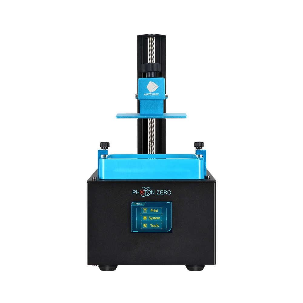 ANYCUBIC 3D Impresora 2020 nuevo Photon-cero SLA 3d Impresora rebanada de resina UV de talla grande Impresora 3d Drucker Impresora 3d