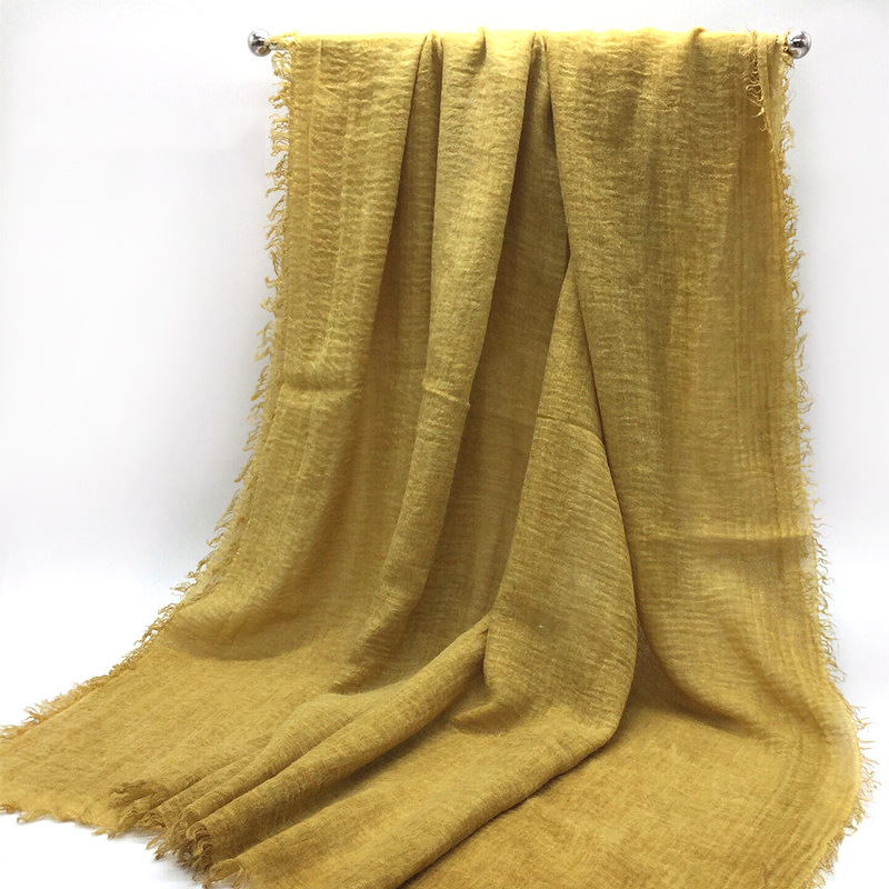 Solid Color Faux Tassels Scarf Autumn And Winter Warm Dual Purpose Shawl Solid Color Tassels Warm Scarf Shawl Wholesale