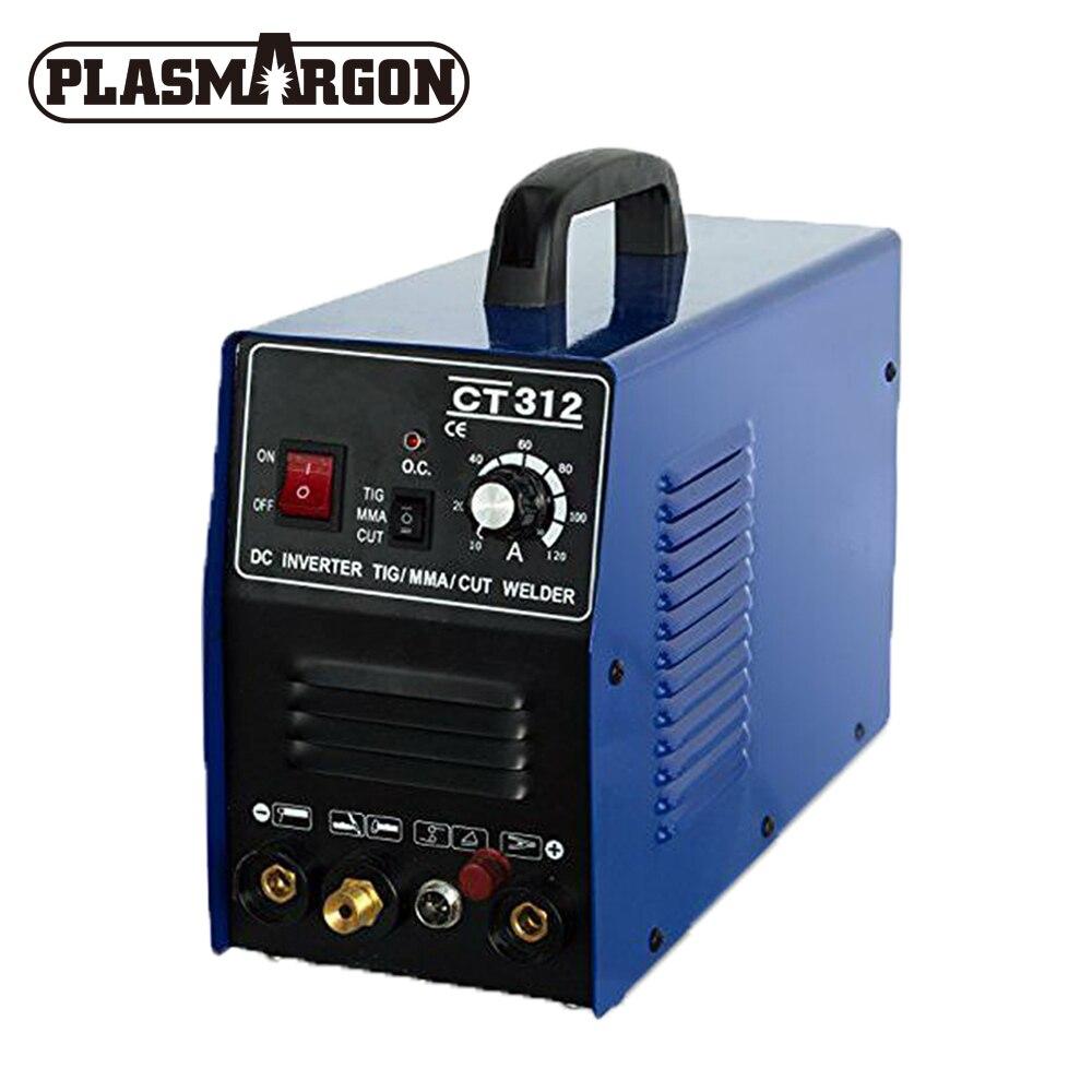 Plasma Cutter TIG/MMA Maschine Digitale TIG/MMA/Schweißer Pilot Arc CNC CT312P