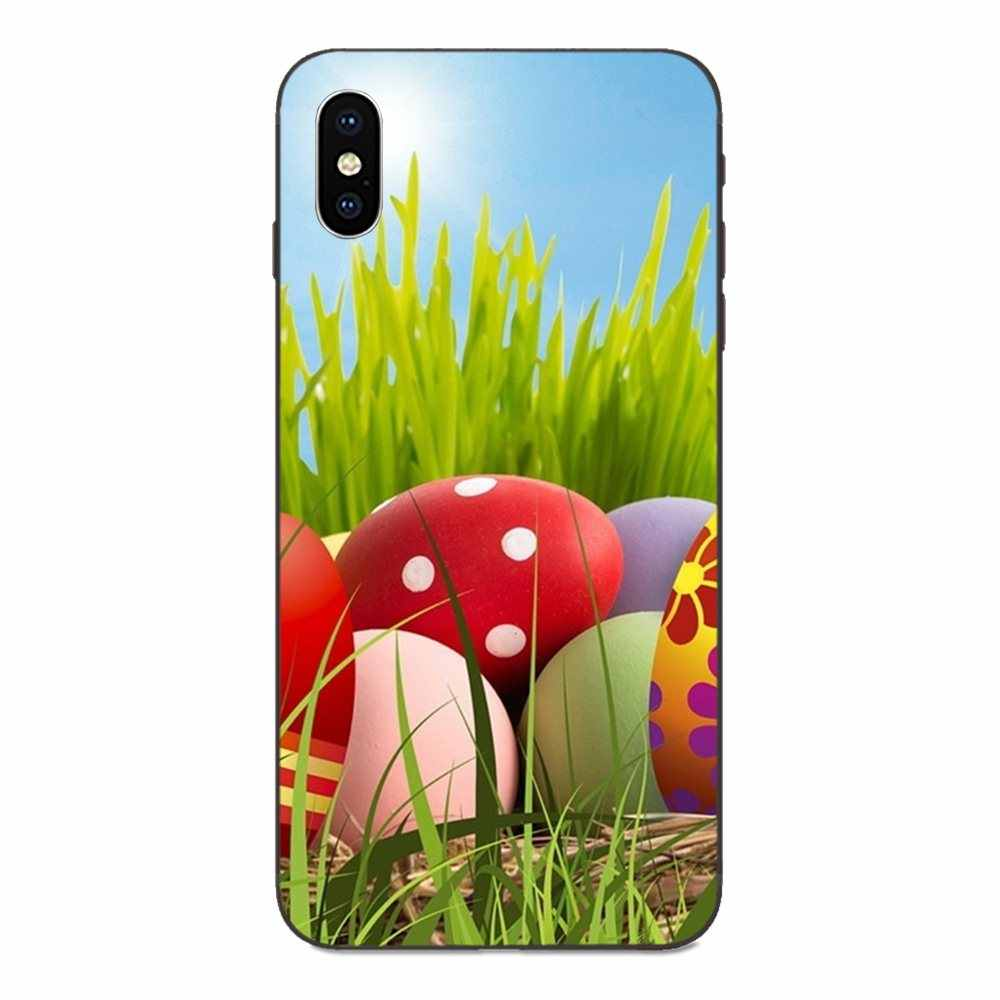 Hot Happy Easter Bunn กระต่ายโทรศัพท์สำหรับ Galaxy A3 A5 A6 A6s A7 A8 A9 A10 A20E A30 a40 A50 A60 A70 A80 A90 Plus 2018