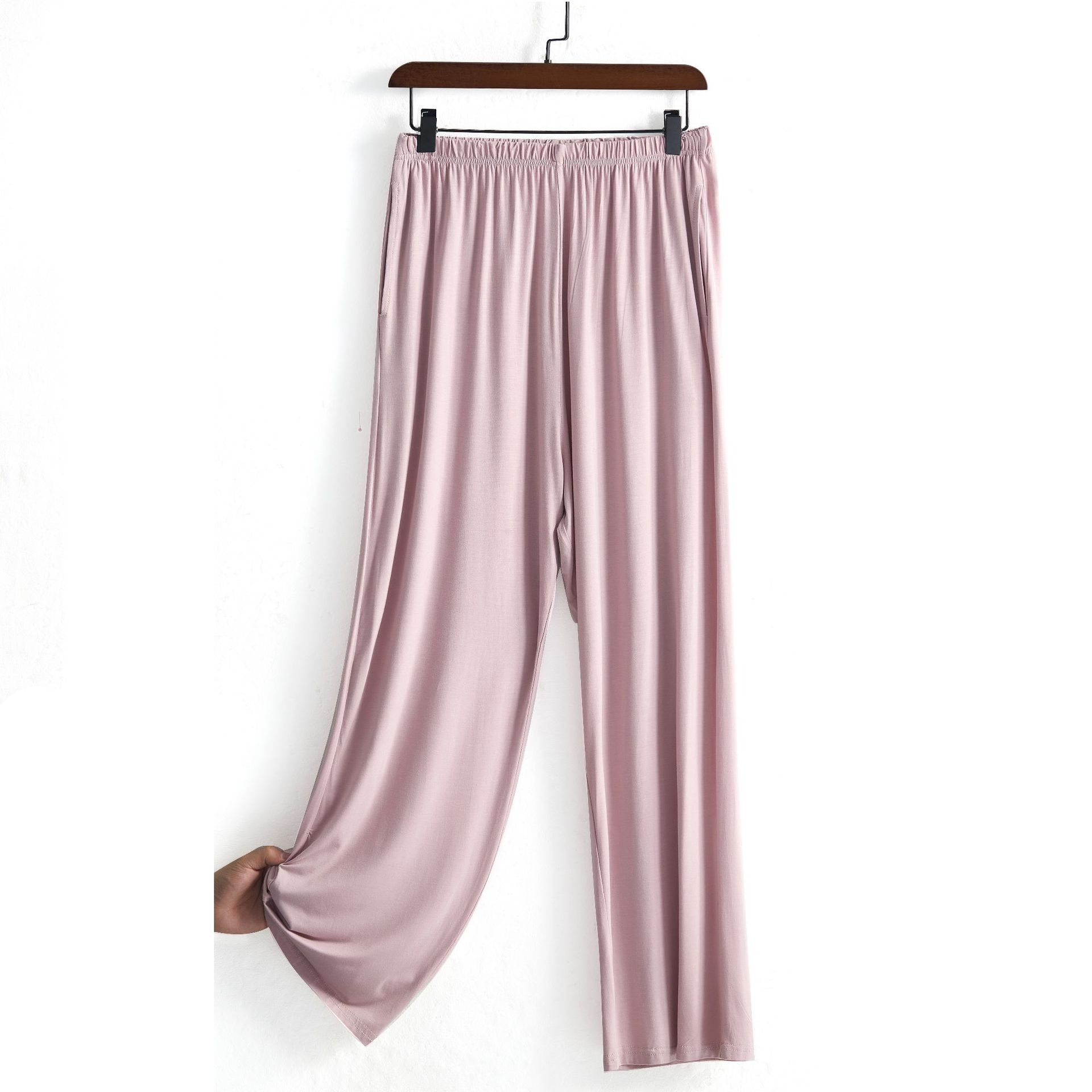 New Comfortable Loose High Elasticity Slim Down Sense Wide-leg Trousers