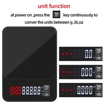 Цифровые Мини-весы 10 кг/0,1 г 5 кг/0,1 г 3 кг/0,1 г с таймером, высокоточные электронные ЖК-весы для ювелирных изделий, Скидка 40%