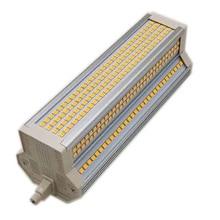 1 шт. R7S 189 мм 60 Вт диммер светодиодный Лампа Кукурузы AC100-130V AC200-240V SMD2835 5400 люмен горизонтальные лампы для замены 1000Вт солнечная трубка