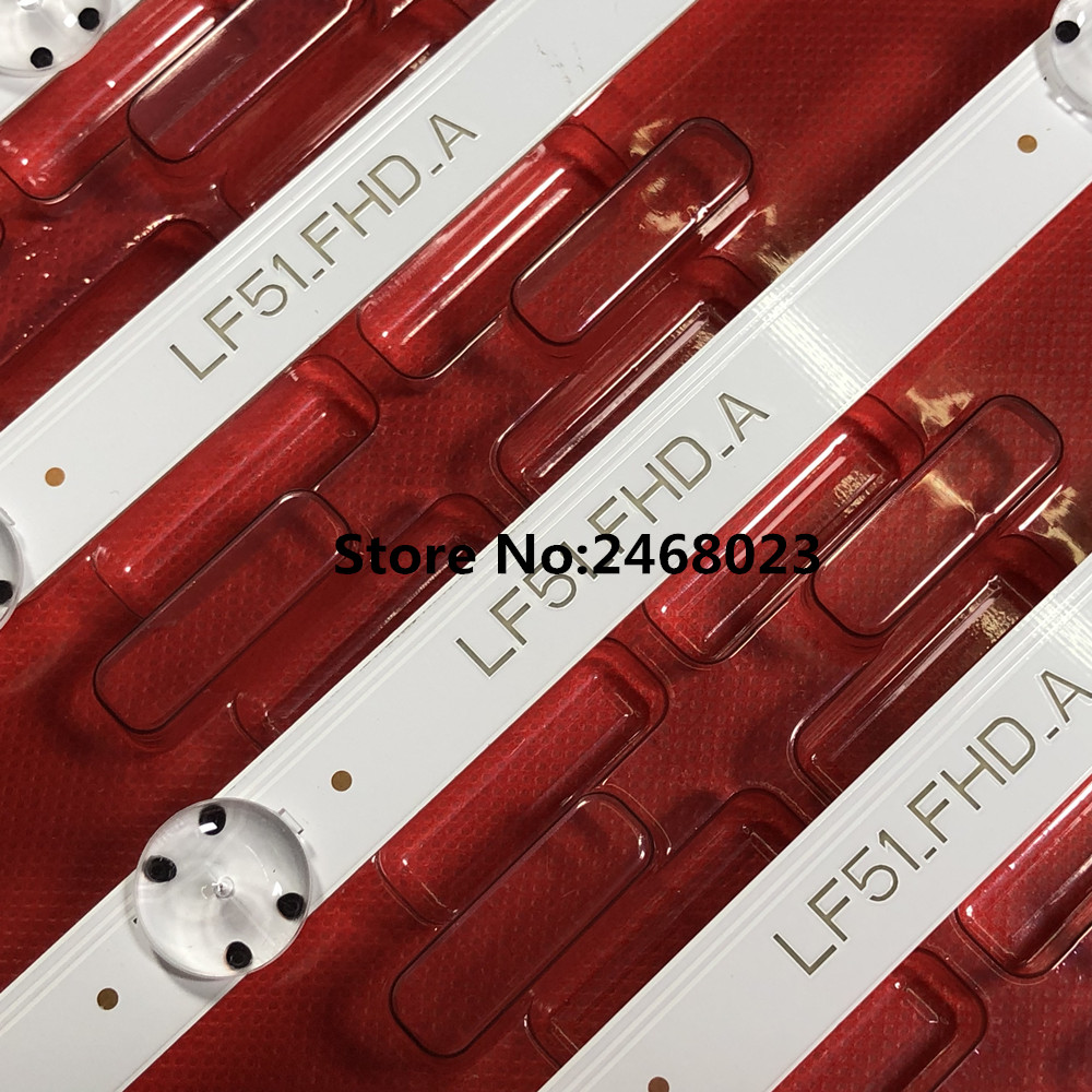 New Kit 6 PCS LED Backlight Strip For LG 43LF5100 LF51_FHD_A LF51_FHD_B LGE_WICOP_FHD 43INCH_REV00_A/B_150511