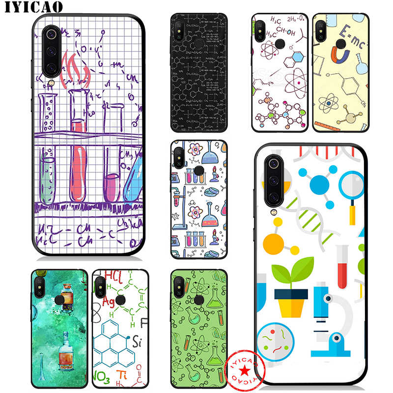 IYICAO Mad Science Chemistry Lab Soft Case for Xiaomi Mi A3 A2 A1 CC9 CC9E 9T 9 8 6 SE Lite Pro Mi F1 Max 3 5X 6X MiA1 MiA2