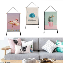 Scenery pattern tapestry hanging print decorative paintings household textile custom polyester 45cm*65cm
