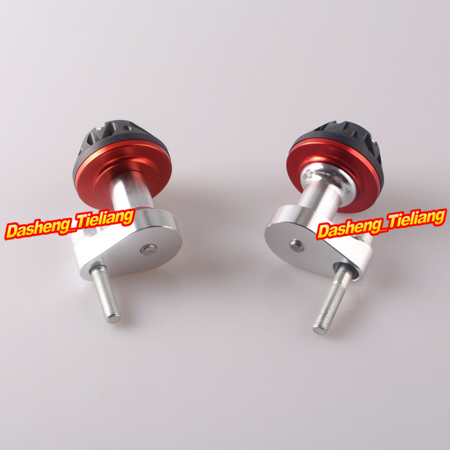 For Yamaha YZF R1 2007 2008 Stator Cover Slider Frame Protector Crash 07 08, Aluminum Alloy, Red Color, Motor Spare Parts image