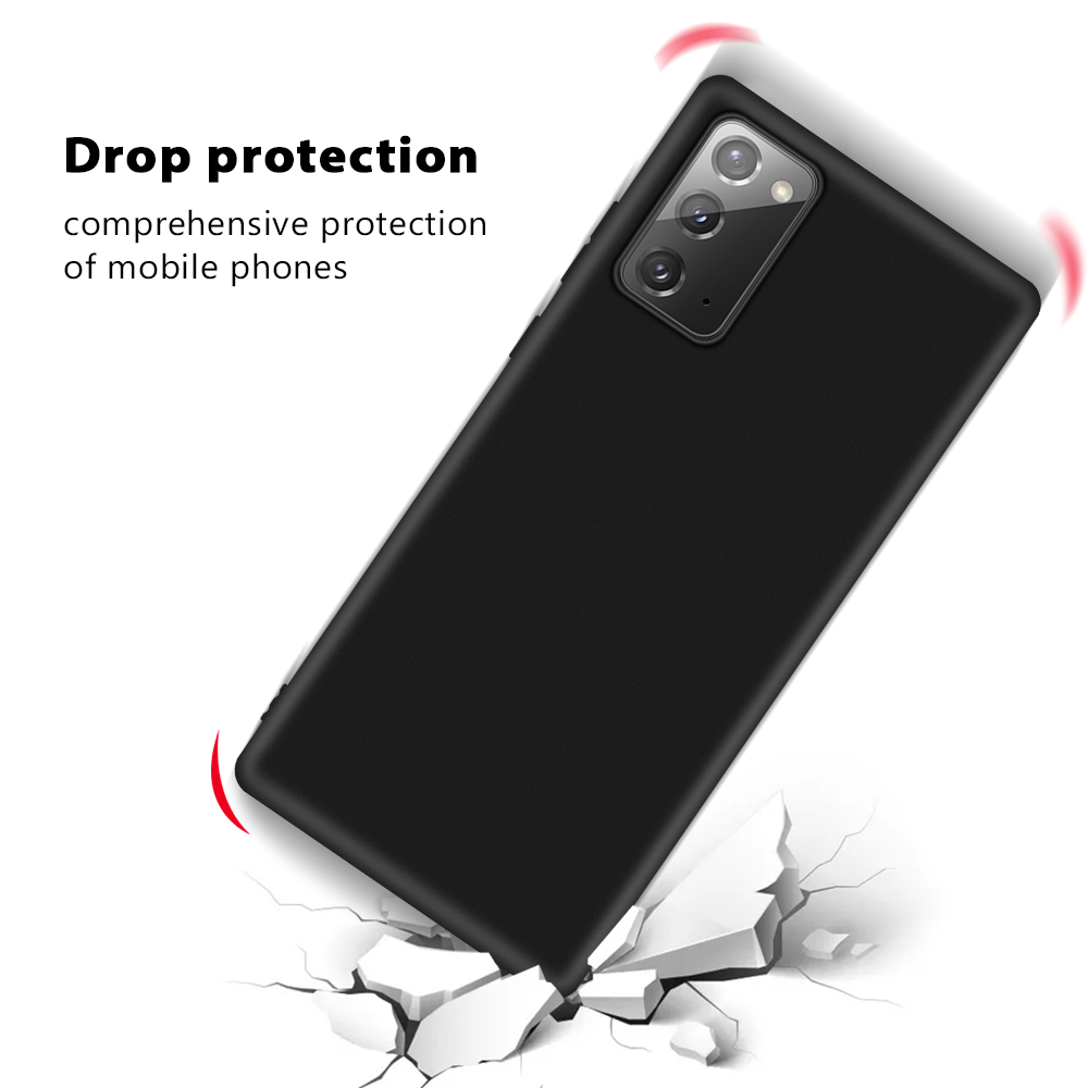 Luxury Soft Silicon Cover Case for Samsung Note 20