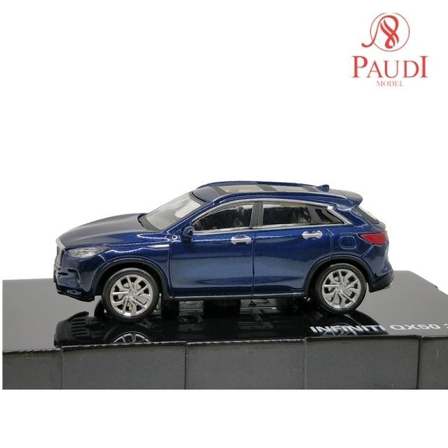 P Model 1:64 Nissan Infiniti QX50 SUV 2018 Die cast Model Car