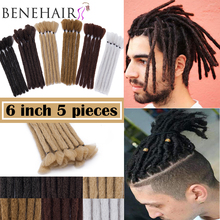BENEHAIR 6'' Dreadlocks Hair extensions Synthetic Braiding Hair