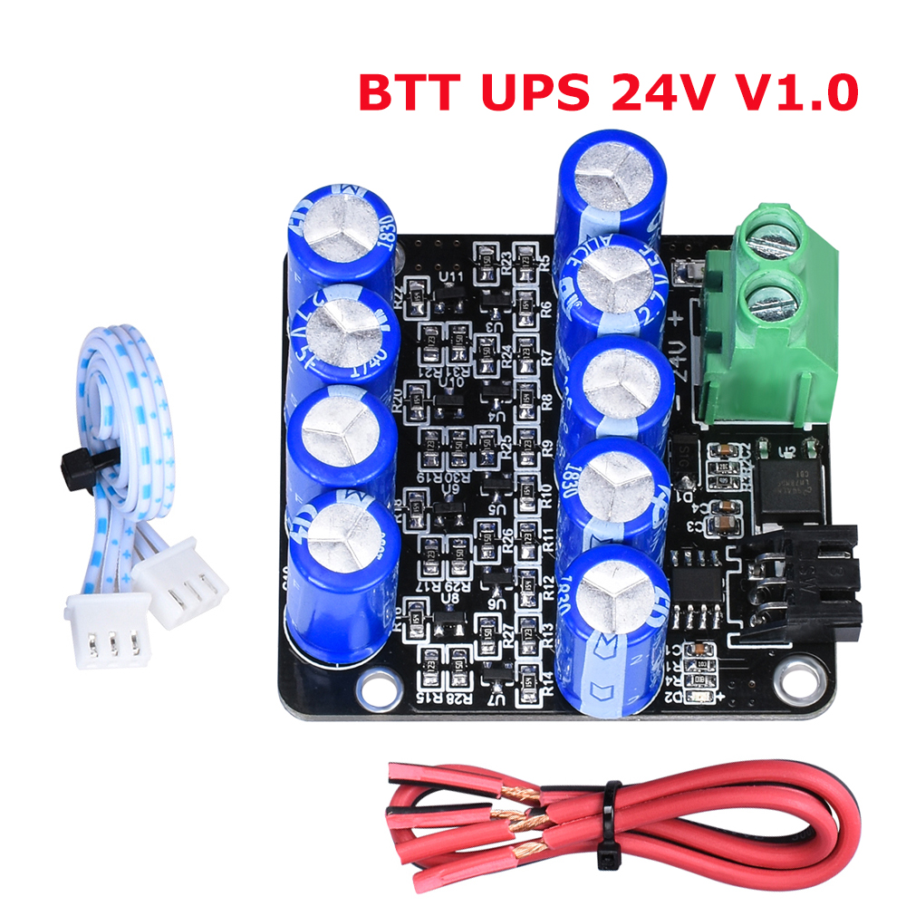 BTT UPS 24V V1.0 Resume Printing While Power Off Module Sensor MINI UPS V2.0 12V For SKR V1.3 Ender 3 CR 10 3D Printer Parts|3D Printer Parts & Accessories| |  -