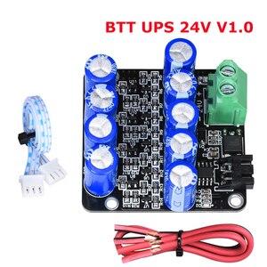 BTT UPS 24V V1.0 Resume Printing While Power Off Module Sensor MINI UPS V2.0 12V For SKR V1.3 Ender-3 CR-10 3D Printer Parts