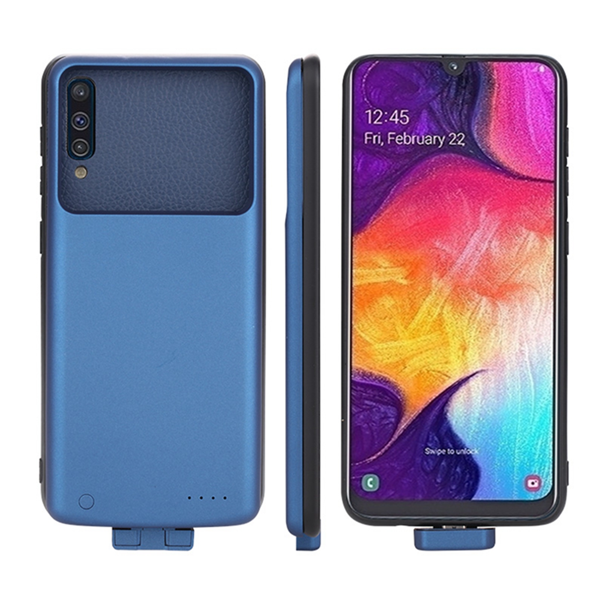 7000mAh For Samsung Galaxy A50 Battery Charger Case External Backup Power Bank Protective Charging Cover for Samsung A50 Case in Battery Charger Cases from Cellphones Telecommunications