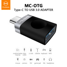 Mcdodo Type C Adapter Type-C Om Usb 3.0 Otg Kabel Adapter Usb C Converter Voor Samsung Galaxy S8 s9 Huawei P9 Usb C Otg Adapter(China)