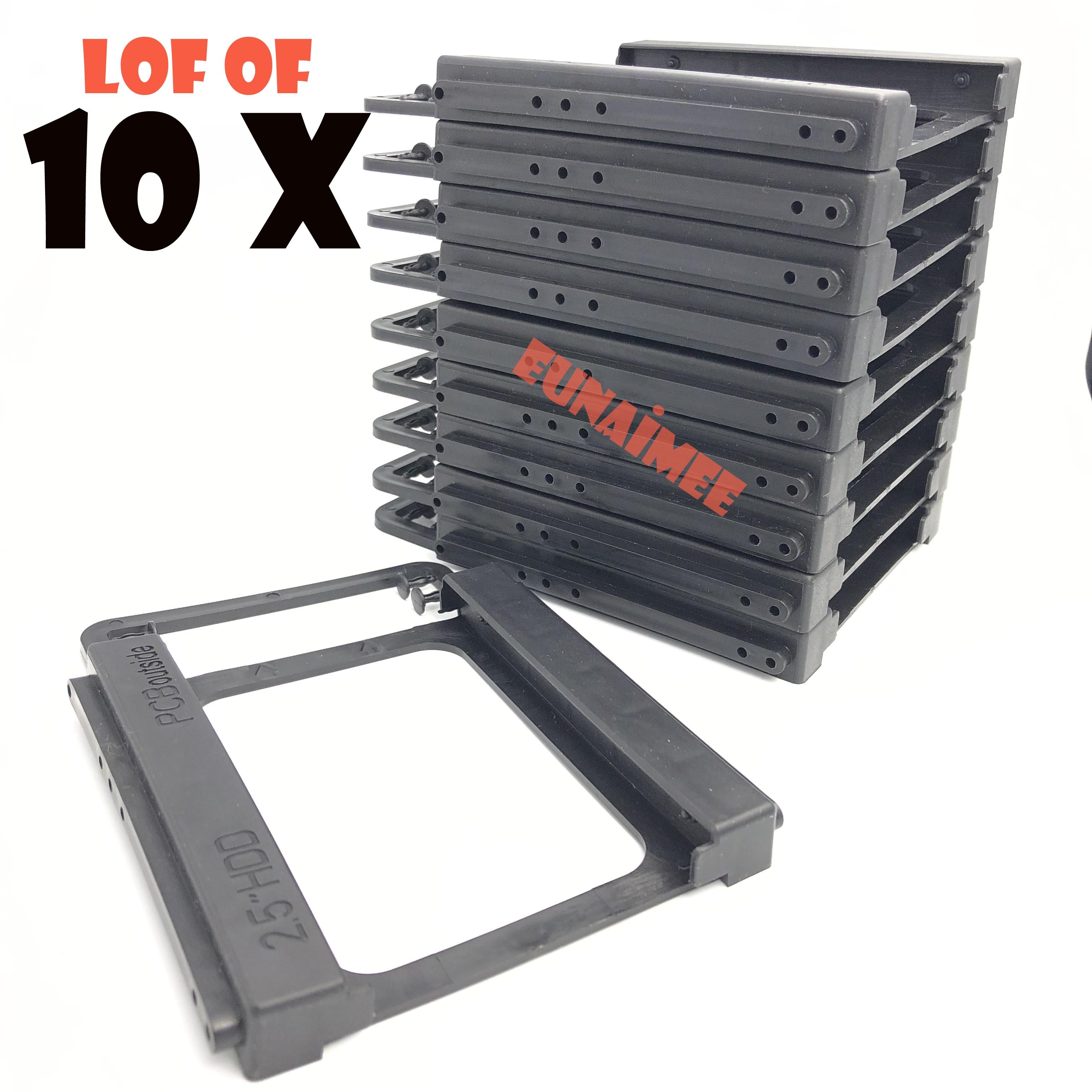 Монтажный комплект для жесткого диска для ноутбука, 2,5-3,5 дюйма, SSD HDD, пластиковый адаптер, док-станция