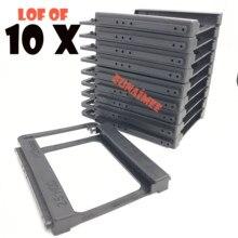 Kit de montagem de disco rígido para notebook, AMLI-UEV, 2.5 polegadas a 3.5 polegadas ssd hdd, doca de suporte adaptador de plástico