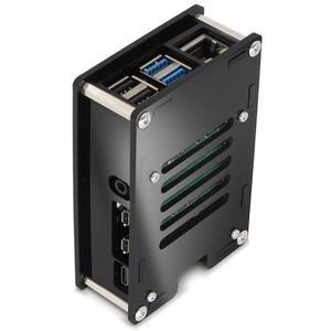Image 5 - PMMA acrylic CASE BOX for Raspberry PI 4 Model B 1GB/2GB/4GB plastic enclosure housing shell cover of Raspberry PI 4 B PI4 4B