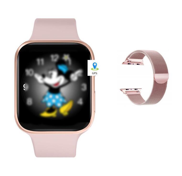 Smart watch IWO 11 Smart Clock for Men With GPS 1:1 44mm Series 5 SmartWatch Heart Rate Monitor Call Message Reminder PK IWO 8|Smart Watches|   - AliExpress