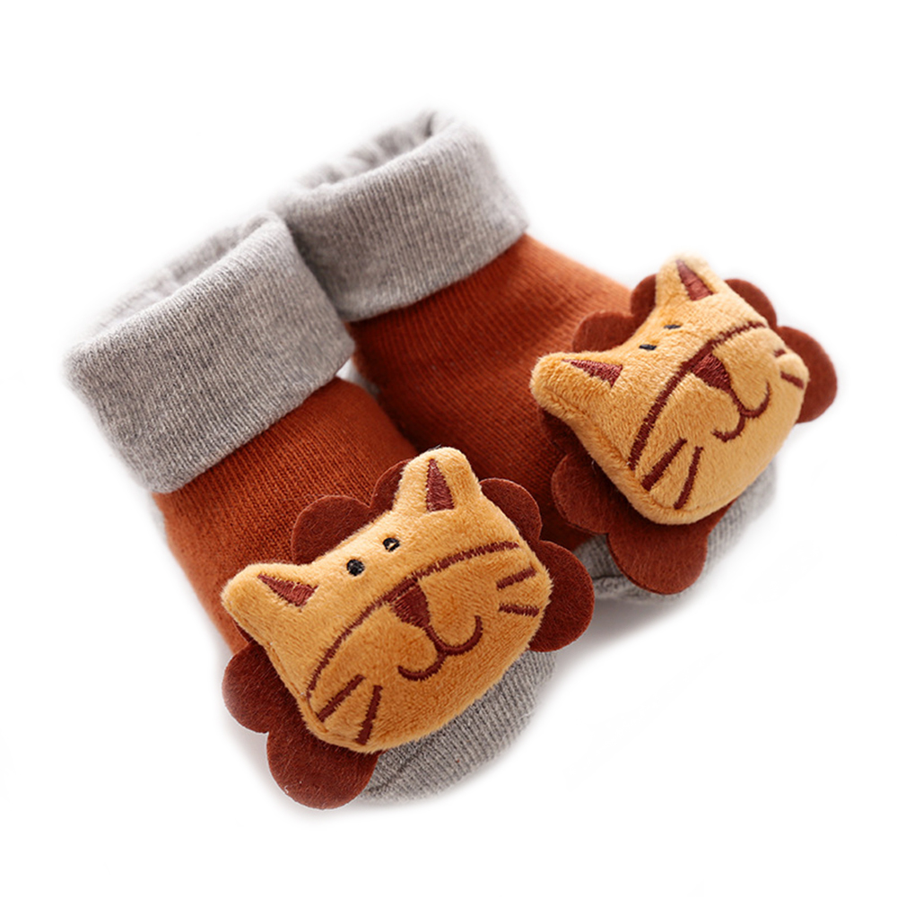 Winter Thick Baby Socks Warm Newborn Cotton Boys Girls Cute Toddler Socks Non-slip Floor Socks 0-6-12month