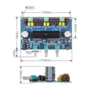 Image 3 - Kaolanhon DC12 ~ 24V 100W + 50W * 2 5.0 Bluetooth amplifikatör kurulu yüksek güç çift TPA3116D2 2.1 dijital amplifikatör kurulu AUX ile ton