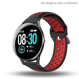 Image 4 - Pulseira de silicone para hofofit hf05 acessórios relógio inteligente banda substituição para agptek lw11 pulseira laço ajustável macio 22mm