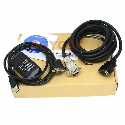 DHL/EMS 2 Sets*USB-MR-CPCATCBL3M Download DOS/V Cable For For MITSUBI+ Server MR-J2S -h2