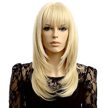 Парик hairjoy из синтетических волос женский длинный прямой
