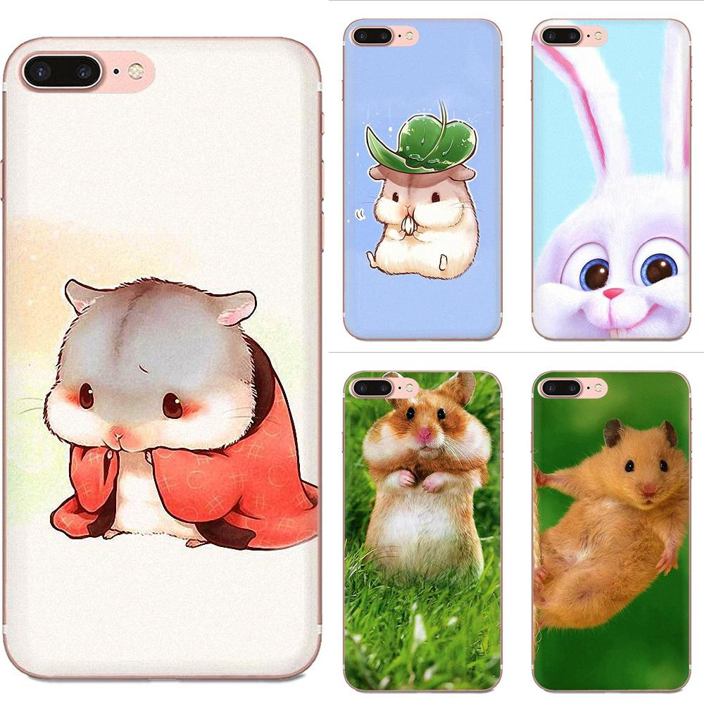 Lovely Block Phone Case For <font><b>Xiaomi</b></font> <font><b>Redmi</b></font> Mi 4 7A 9T K20 CC9 CC9e Note 7 9 Y3 SE Pro Prime Go Play <font><b>Rabbit</b></font> Mouse Hamster image