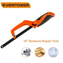 EVERPOWER 10 Hacksaw Repair Tool Protable Metal Cutting Hand Saw for Woodworking Garden Saws/Pruning Saws Dropshipping