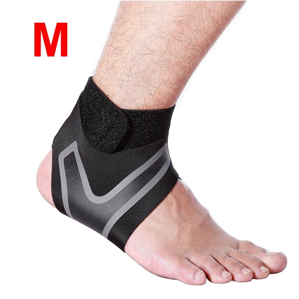 Ajustável elástico tornozelo manga elástica tornozelo cinta