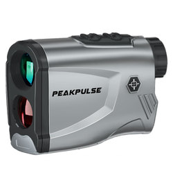 PEAKPULSE Laser Range Finder 600m/100m/1500M 6 Times Telescope Distance Meter for Outdoor Golf Hunting