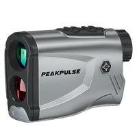 PEAKPULSE laser range finder 600m/100m 6 times telescope laser distance meter for outdoor golf hunting