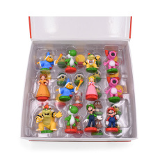 32 Pcs/Set Anime Super Mario Chess Figure Bros Luigi Princess PVC Action Doll Collectible PVC Toy Model Baby Toy Christmas Gift цена 2017