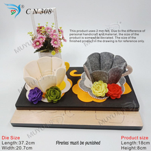3D cup die cutting board muyu die-- new wooden mould dies for scrapbooking  CN308