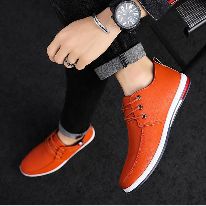 The New Fashion Casual Is PU Leather Shoes