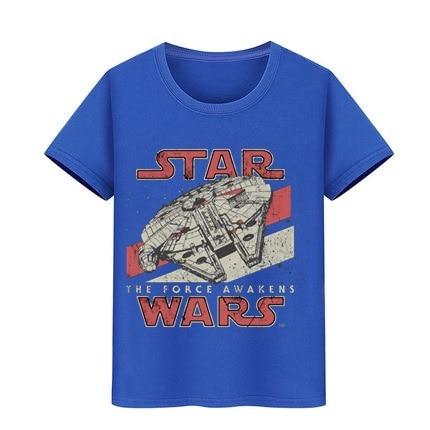 Star Kid T-Shirt Boy Girl Starwars VII T Shirt Teenagers Hip Hop Tshirts Darth Vader Wars The Tee