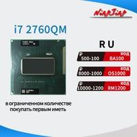 Procesador Intel Core i7 i7-2760QM 2760QM SR02W 2,6 GHz Quad-Core de ocho hilos CPU 6M 45W Socket G2 / rPGA988B