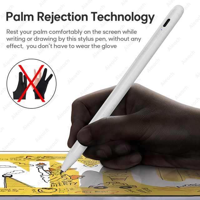 For Apple Pencil 2 Stylus Pen For iPad Pro 11 12.9 2020 9.7 2018 Air 3 10.2 2019 Mini 5 For iPad Pencil with Palm Rejection Pen 1