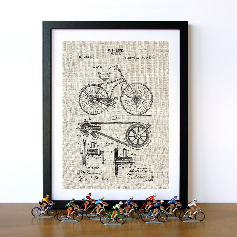 Triathlon-Patent-Canvas-Posters-Cycling-Swimming-Running-Group-Sports-Wall-Art-Pictures-Vintage-Painting-Prints-Triathlon
