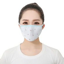 Hot Sale Unisex Summer Thin Sunscreen Bike Cylcing Ice Silk Mouth Masks Protable Breathable Personal Cute Sun clog