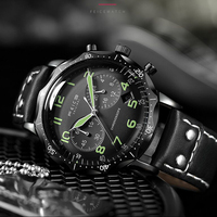 Fashion Trend Quartz Student Watch 42mm Dimeter 30m Water Resistant Top Brand Luxury Casual Men's Sports Wrist watch for Male