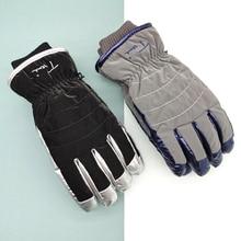 Outdoor Sports Waterproof Ski Gloves Warm Winter Heat Storage Gloves Thickened Ciclismo Inverno Winter Sports Accessories EF50ST