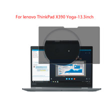 For lenovo ThinkPad X390 Yoga-13.3in laptop screen Privacy Screen Protector Privacy Anti-Blu-ray effective protection of vision(China)