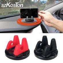 Автомобильный держатель для телефона на 360 градусов, держатель для приборной панели, мобильный телефон, подставка для менее 6 дюймов, подставка для телефона