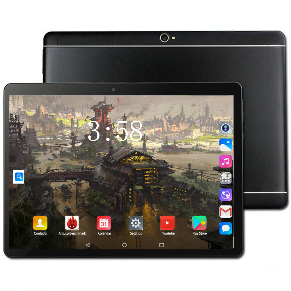 Original 4G LET Tablet 10.1 Inch Tablets Android 8.0 Octa Core RAM 6GB ROM 128GB WIFI GPS Dual SIM Card Phone Call Tablet PC 10