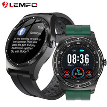 LEMFO Smartwatch 2021 IP68 Waterproof Fitness Sports Heart Rate Monitor Smart Watch Men For Business Android IOS For Xiaomi