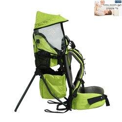 Plegable bebé niño senderismo mochila impermeable niño viaje respaldo Silla de escalada al aire libre Silla de hombro espalda