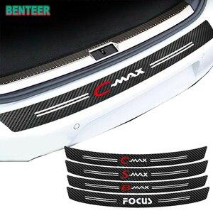 Carbon fiber Car bumper Protector sticker car styling for Ford Focus Smax Cmax Bmax(China)