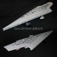 05028 star Wars Imperatore Fighters La Nave Execytor Super star Destroyer 3208pcs Building Block Giocattoli Compatibile 10021