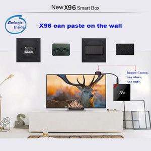 Image 4 - X96 Android 7,1 Dispositivo de TV inteligente WiFi S905W conjunto de cuatro núcleos Top Box 4K Media Player X 96 X96W Set top Box
